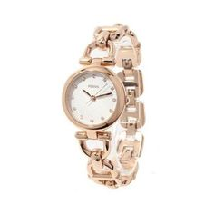 Fossil ES3350 Olive 28mm Rose Gold tone Steel Crystal Women's Watch - New in Box - Listing price: $115 Now: $93