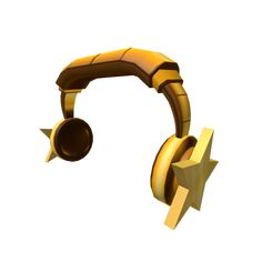 Customize your avatar with the Golden Star Headphones and millions of other items. Mix & match this hat with other items to create an avatar that is unique to you! Roblox Shirt, Roblox Roblox, Play Roblox, Roblox Creator, Roblox Generator, Free Glasses, Free Avatars, Roblox Gifts, Roblox Animation