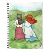 Anne of Green Gables Anne and Diana Notebook Winter Fairy, Winter Magic, Star Goddess, Toil And Trouble, Celtic Mythology, Curious Cat, Witch House, Cat Sleeping, Anne Of Green Gables