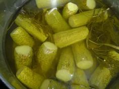 Pickles, Cucumber, Salads, Food And Drink, Canning, Diet, Pickling, Pickle, Home Canning
