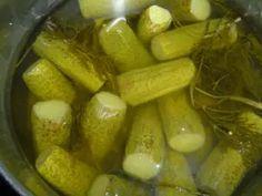 Pickles, Cucumber, Salads, Food And Drink, Canning, Per Diem, Pickling, Salad, Cauliflowers