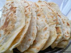 afghan bolani filled with leek