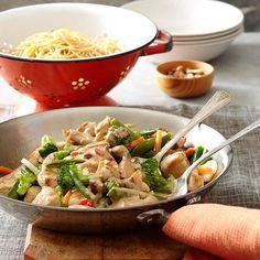 Almond Noodle Bowl