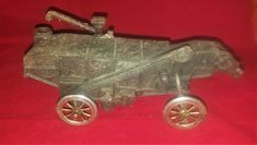 Arcade McCormick Deering THRESHER farm vehicle toy Cast Iron vintage antique #ARCADE Cast Iron, It Cast, Ebay Auction, Arcade, Vintage Antiques, Vehicle, Toys, Toy, Games