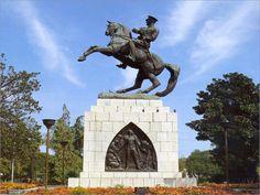 The Statue of Ataturk at Samsun in Turkey