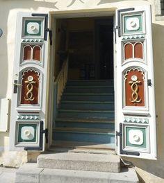 A door in Tallinn,Estonia
