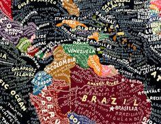 South America/ AMérica del Sur.