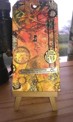Hi blog friends! Well, it's May already and, amazingly, I'm managing to keep up with Tim Holtz's 12 Tags of 2013 . I've made a decision to...