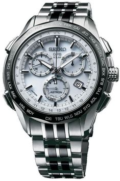 Seiko Astron Watch GPS Solar Chronograph Limited Edition Watch available to buy online from with free UK delivery. Men's Watches, Breitling Watches, Sport Watches, Cool Watches, Fashion Watches, Fashion Men, Best Watches For Men, Luxury Watches For Men, Skeleton Watches