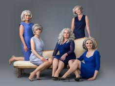Women Embracing Their Gray Hair Styles - Beautiful Grey Hair Photos
