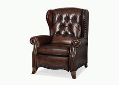 Products | Motion Seating | Hancock and Moore parkway tufted recliner, good dimensions