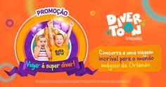 Campanha Viajar é Super Diver / Divertoon Brinquedos on Behance Social Media Poster, Social Media Design, Ad Design, Design Show, Logo Design, Flyer Design Inspiration, Billboard Design, Campaign Logo, Kids Poster