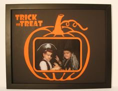 Custom made Halloween picture frame $60 on Etsy