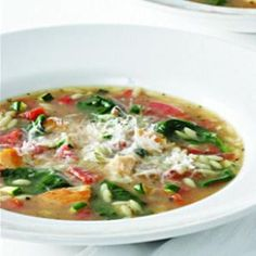 Vegetable Lover's Chicken (or Turkey) Soup