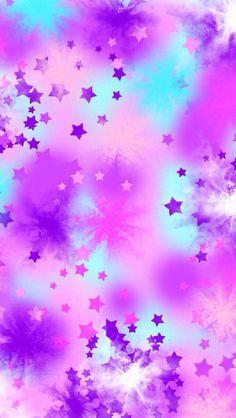 Girly, stars wallpaper