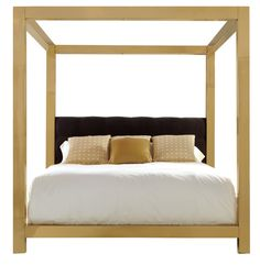 Metal Canopy Bed | Bernhardt #gold #bed