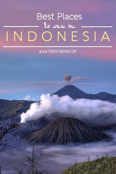 Best places to see in Indonesia. Best Places To Travel, Cool Places To Visit, Ubud, Thailand, Komodo, Asia Travel, Vacation Trips, Travel Around The World, Adventure Travel