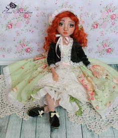 Купить Кукла Мишель будуарная Кукла ручной работы Кукла из пластика в интернет магазине на Ярмарке Мастеров