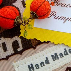 Send mail parcel in the USA! Bracelet Pumpkin, Happy Journey!