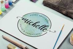 Logo Efecto Watercolor