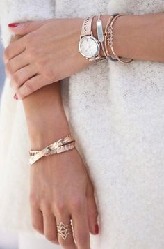 Montre Icone Rose Gold | Stella & Dot