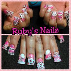 Duck feet nails