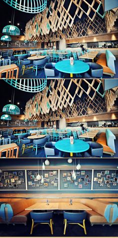Nando's Restaurant by Blacksheep, Ashford Diy Interior Doors, Retail Interior, Restaurant Interior Design, Café Design, Store Design, Commercial Design, Commercial Interiors, Brewery Restaurant, Hospitality Design