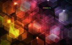 Photoshopで六角形のキラキラに輝く背景画像をつくる方法