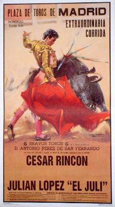 Fiesta brava on pinterest madrid spain and valencia - Laminas y posters madrid ...