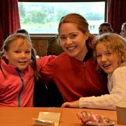 Mathilde, Kristiane og Mira Linnea
