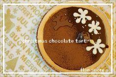 クリスマスチョコレートタルト