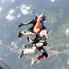 WOW!!!  Freefall Skydive in Hattiesburg, Mississippi.