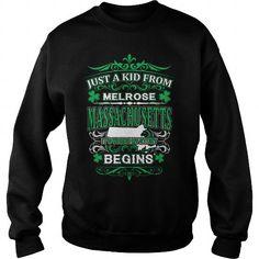 Cool Melrose - Massachusetts ST01 SC T-Shirts
