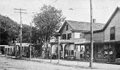 Main Street, Port Norris (Cumberland County), NJ. Early 1900's <3  Thanks to Nancy Patterson Tidy <3