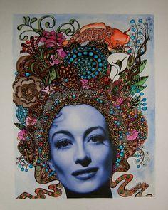"Saatchi Online Artist Linda Lovenstein; Drawing, ""Joan, Phase I"" #art"