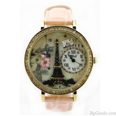 Romantic Eiffel Tower Polymer Clay Watch only $29.9 in ByGoods.com!