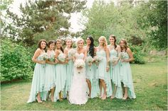 high low bridesmaids dress/ LOVE THIS for a SUMMER WEDDING!