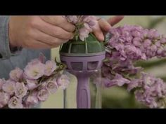 Bridal flowers workshop by Desiree Glasbergen - YouTube