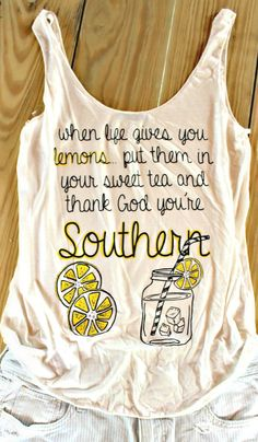 When Life Gives You Lemons Tank – Simply Taralynn Collection
