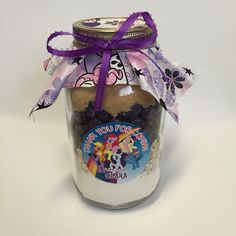 My Little Pony Gourmet Mason Jar Cookie Mix Party by FabRustic