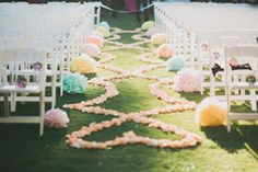 pastel flower ceremony decorations | California Wedding Day magazine | Artisan Event Floral Decor, Wedding Planner and Floral Decor