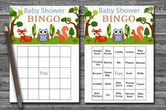 Woodland baby shower bingo, forest animals Baby Shower Bingo Cards, zoo baby shower Bingo Card , Blank Bingo Cards & PreFilled Cards, BG170 #FloralBabyBingo #BabyBingoPrefilled #BabyShowerGame #BabyBingo #BabyBingoCards #BabyShowerBingo #PrintableBingo #BabyShowerCards #ZooBingo #BabyShowerActivity Baby Bingo, Baby Shower Bingo, Baby Shower Activities, Baby Shower Cards, Baby Shower Printables, Baby Shower Gifts, Blank Bingo Cards, Baby Tub, Free Diapers