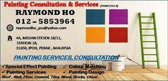 """油漆?找我们吧!!!  我们是专业油漆顾问以及油漆服务。拥有超过十年的油漆顾问以及训练经验。 马上联络 012-5853964. 我们提供免费评价及建议。 """"只限于怡保"""" #油漆 #装修 #顾问 #霹雳 #大马 #nippon #ici #jorton #dulux #painting #renovation #house #ipoh #perak"""
