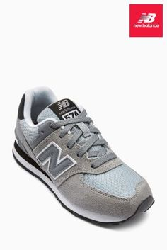 Grijze New Balance 574 sneaker