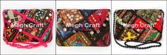 This clutch bag is crafted from hand embroidered vintage mirror work patches made over 80 years - Designer Embroidered Mirror Work Banjara Clutch Handbag -wholesale Indian Tribal Vintage Gypsy Clutch Bag - Handbag BY #meghcraft #craftnfashion #CraftsOfGujarat #indianethnicjewelry #IndianTraditionalJewelry Megh Craft - Indian Ethnic Jewelry
