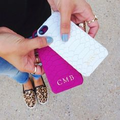 GiGi New York | Python-Embossed iPhone Case | Haute Off The Rack Fashion Blog