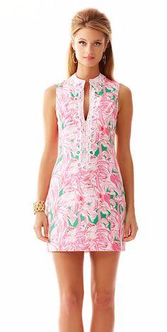 Lilly Pulitzer dress.