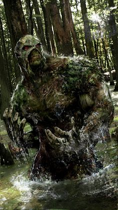 SwampThing by John Gallagher (DC comics)