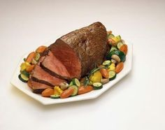 Beef round bottom roast in crockpot - add roast, 1 can cream of mushroom, one packet onion soup/dip mix, 3/4 cup water.  Serve with mashed potatoes and veggie, and its like you were slaving for hours.  Christmas Eve dinner but with prime rib