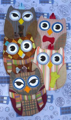 Doctor Who Owl Hot Pads Pick Any 2 by Timestitcher on Etsy